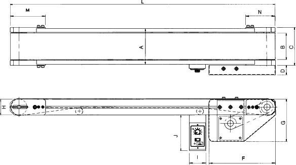 Standard Conveyor 외형도